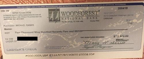 cheque fraude mystery shopping estafa