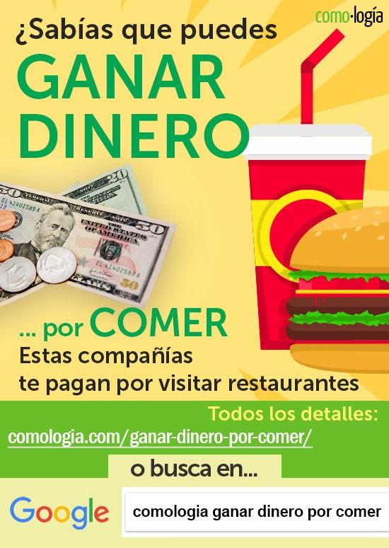 ganar dinero comiendo visitar restaurantes