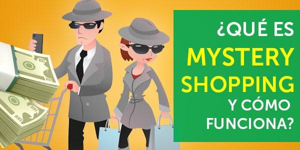 qué es mystery shopping shopper