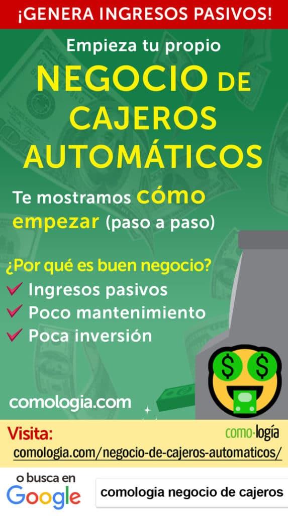 cajeros automaticos atm negocio