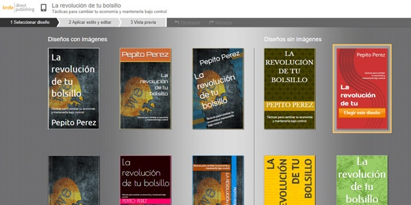 creador de portadas de amazon publicar un libro