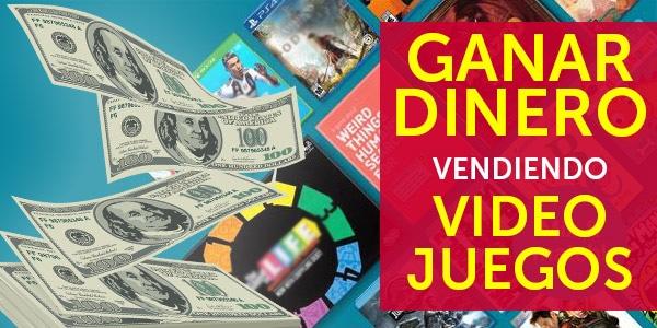 ganar dinero vendiendo videojuegos