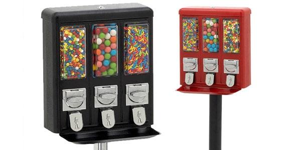 Maquinas expendedoras de dulces y juguetes