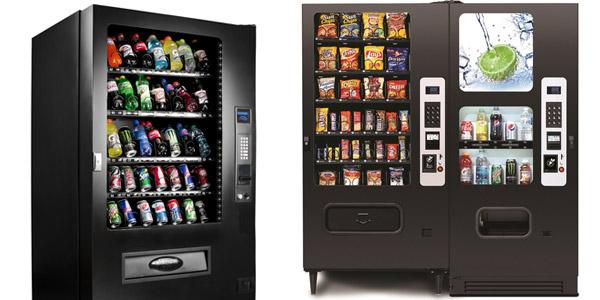 Máquinas vending de alimentos y bebidas