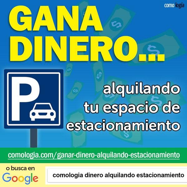 ganar dinero alquilando aparcamiento parking