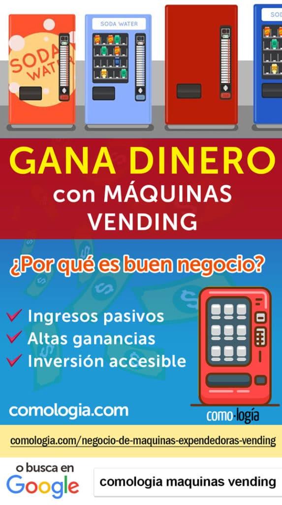 ganar dinero maquinas vending