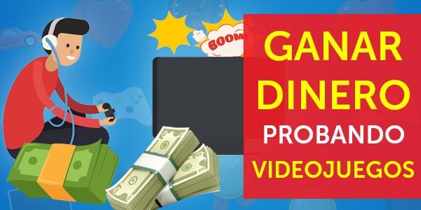 ganar dinero probando videojuegos