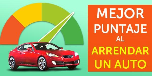 puntaje de crédito arrendar lease de autos