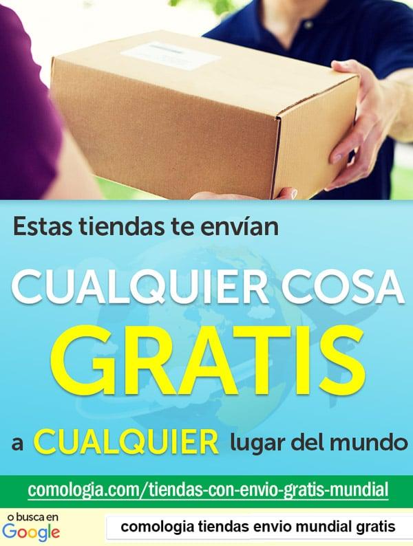 tiendas envío gratis mundial