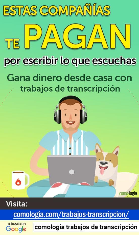 ganar dinero transcribiendo trabajos transcripción