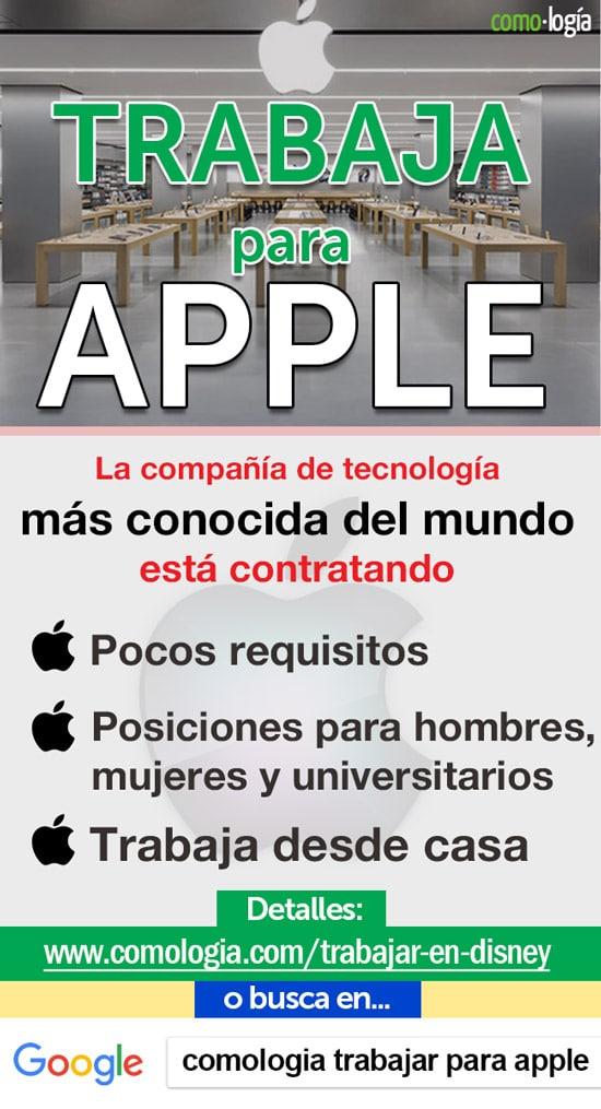 trabajos apple