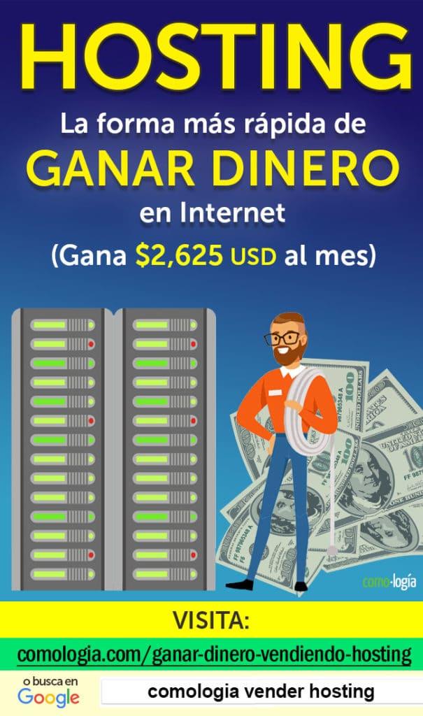 ganar dinero hosting