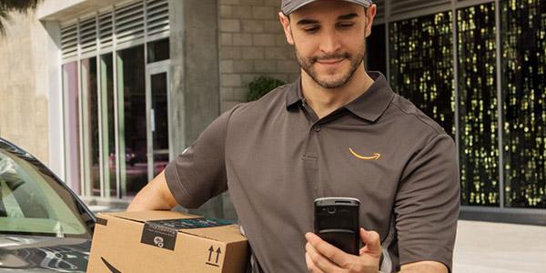 Trabajar haciendo entregas para Amazon
