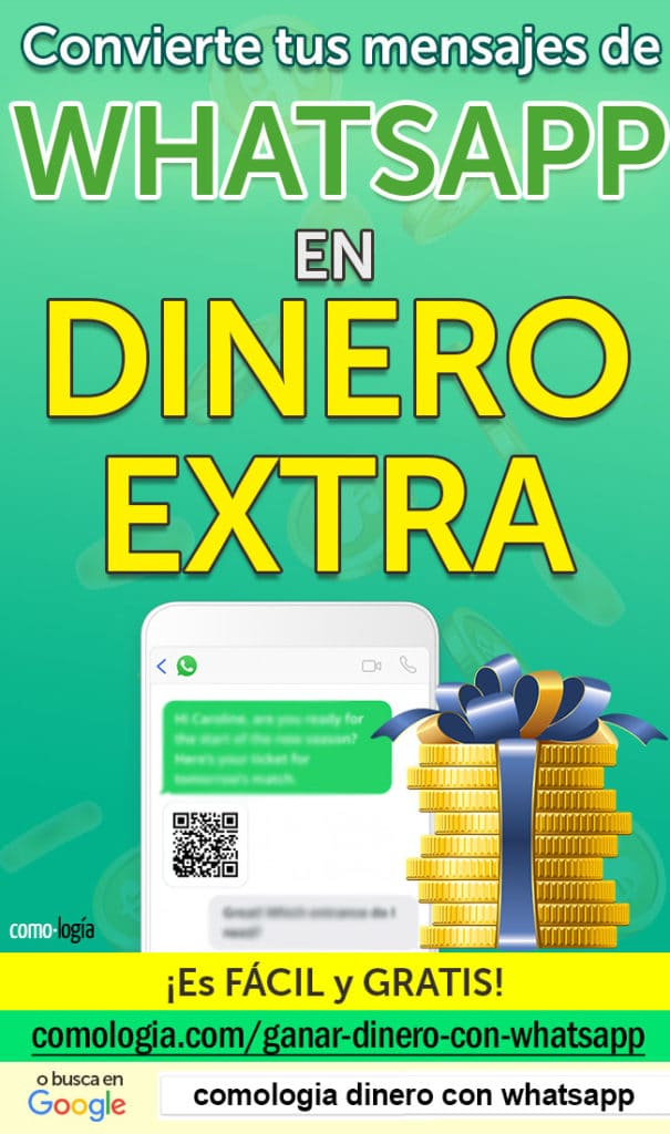 dinero con whatsapp