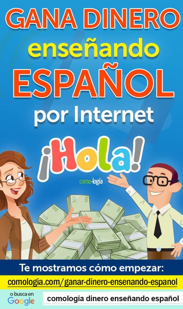 ganar dinero ensenando espanol por internet