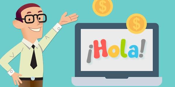 ganar dinero ensenar español
