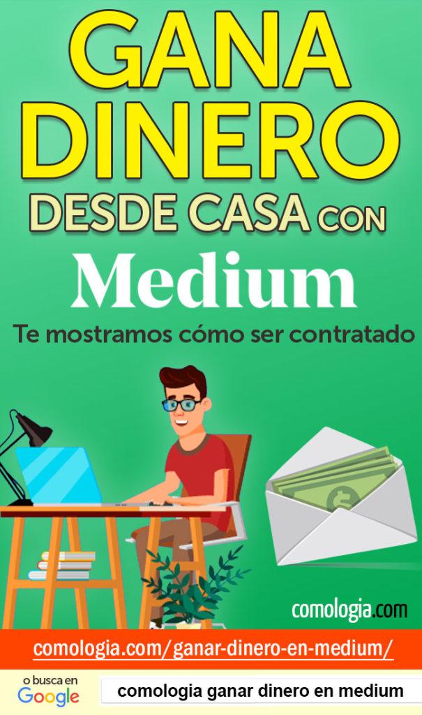 ganar dinero escribiendo en medium