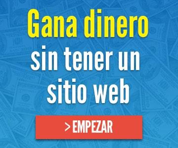 ganar dinero sin sitio web