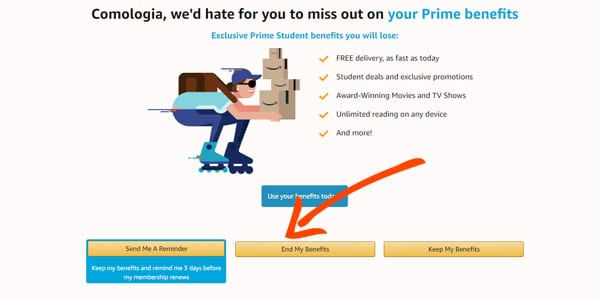 cancelar amazon prime day