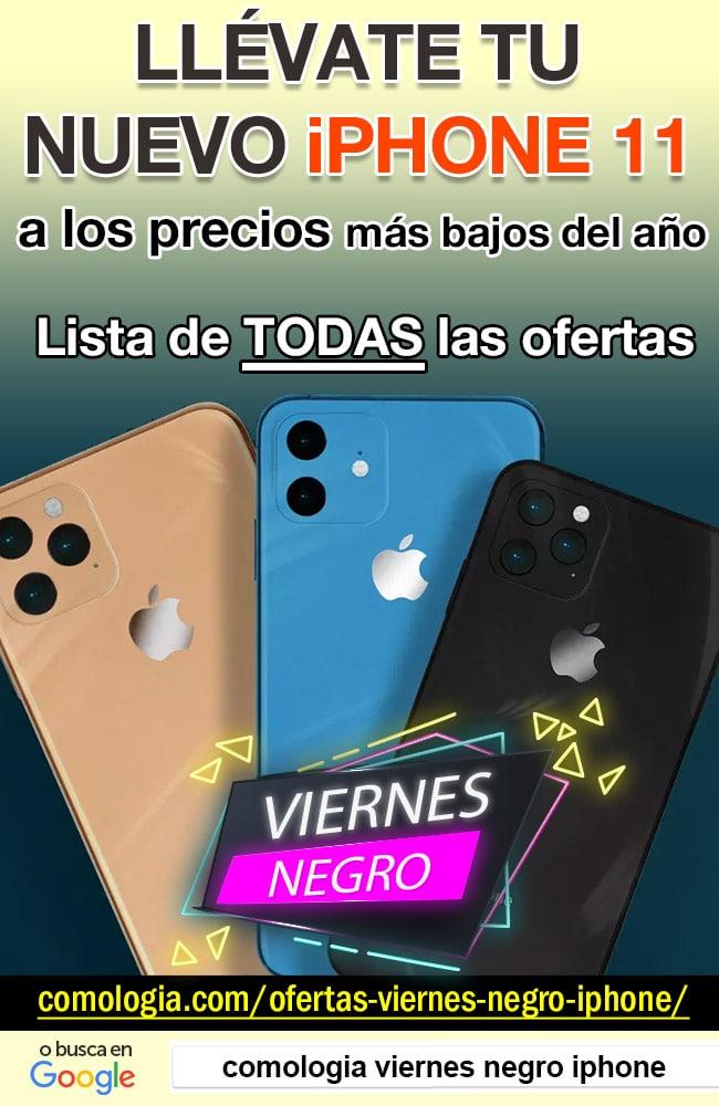 ofertas viernes negro iphone 11 black friday