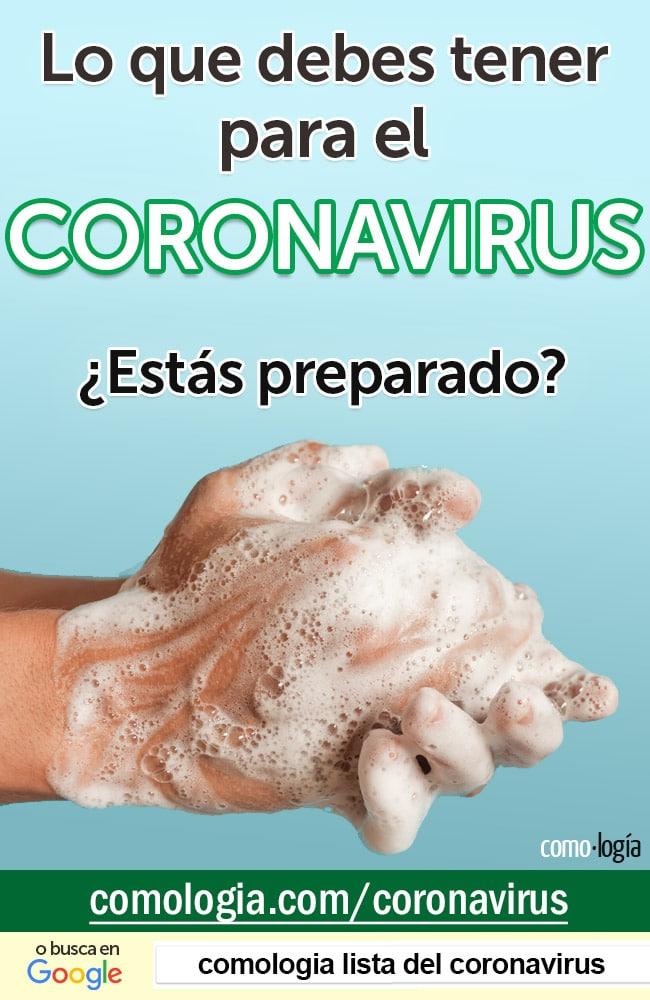 provisiones para el coronavirus