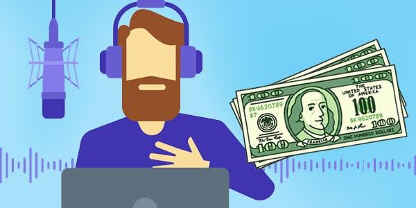 ganar dinero voice over