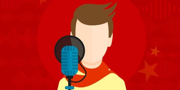 trabajos de locutor voice over